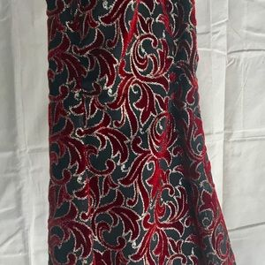 Vintage Red 80's Party Dress